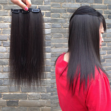 Seamless Invisible Long Hair Pad Repair Hair Pad Root Fluffy Apparatus Thickening One-piece Hair Pad Receiver