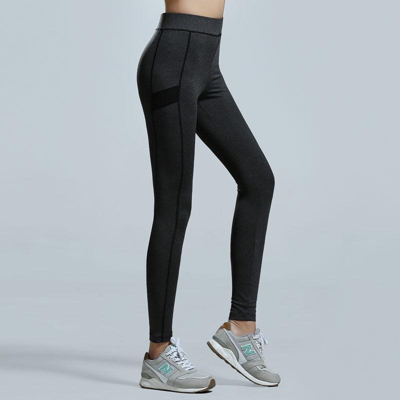 专业压缩裤女运动大码速干裤跑步训练高弹力修身紧身瑜伽裤长裤