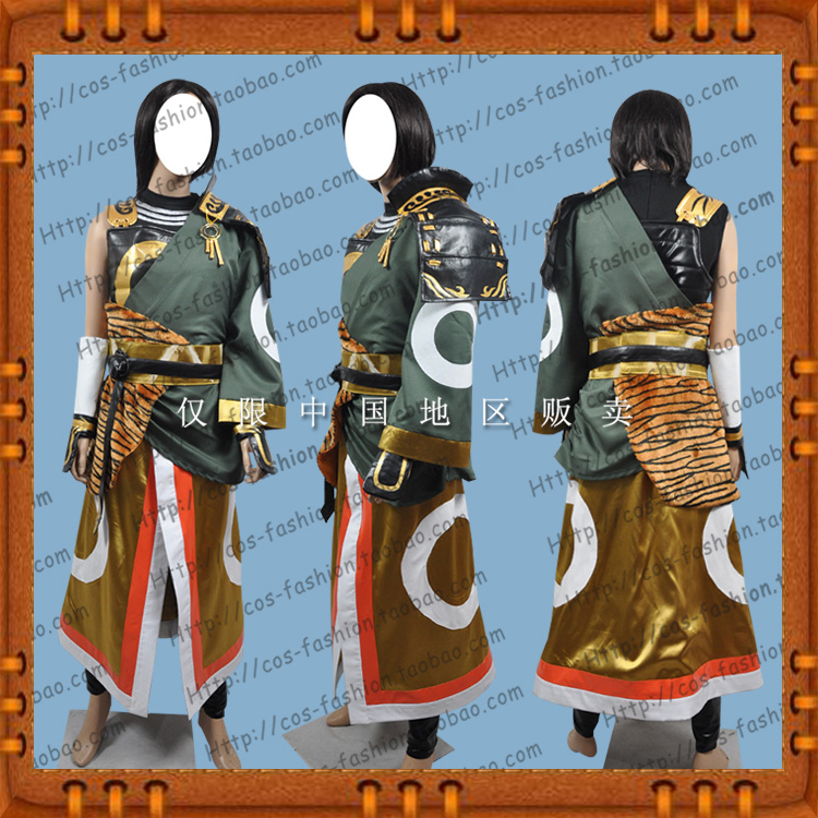 Package post Tokyo big sale of the Warring States period matchless 3 Kato Shinsei cos clothing full Cosplay mens and womens clothing
