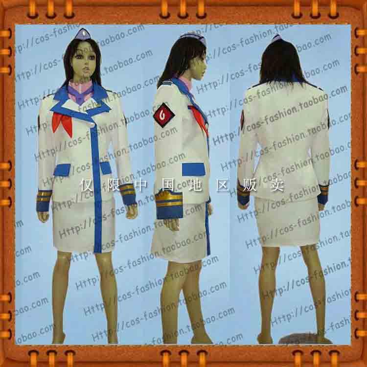 包邮东京大贩卖超时空要塞F边境凯瑟琳格拉斯cos服全套男女服装