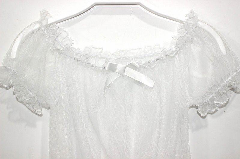 Summer new soft girl sweet summer dress with girl Lolita bottom coat baby light through thin top lace shirt