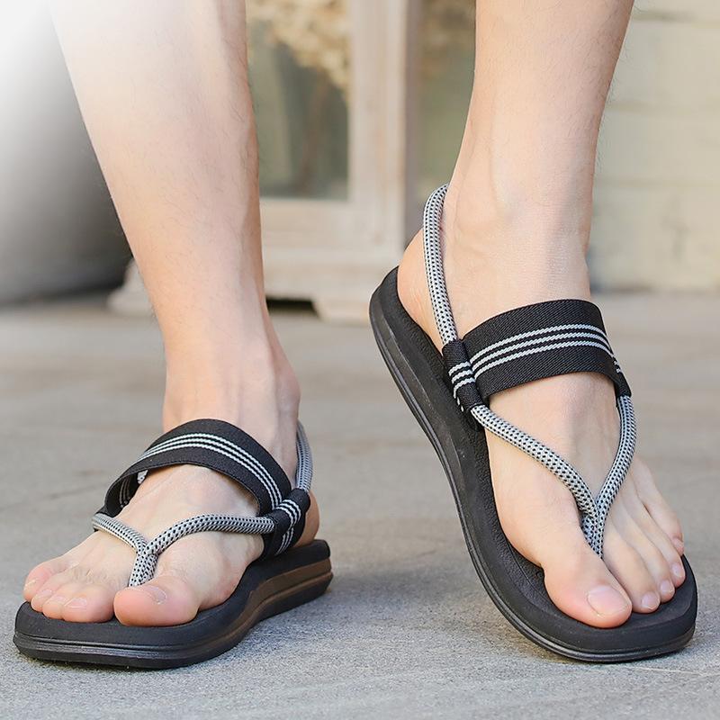 7情侣沙滩鞋个性拖鞋夏季新品潮牌休闲防滑夹脚人字拖男凉拖
