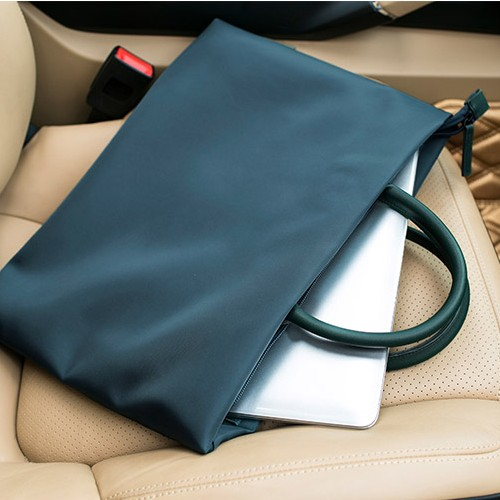 简约商务手提包男女公文包13.3寸14寸15.6寸笔记本电脑包文件袋