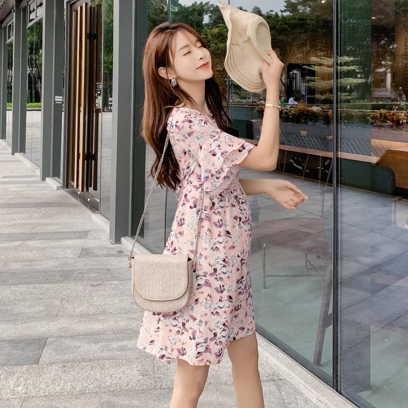 孕妇装夏天时尚款2019新款短袖上衣限10000张券