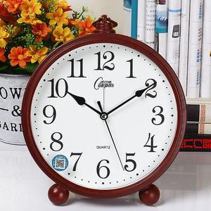 康巴丝座钟客厅卧室摆放家用座钟台式带闹钟创意北欧时尚风格大字