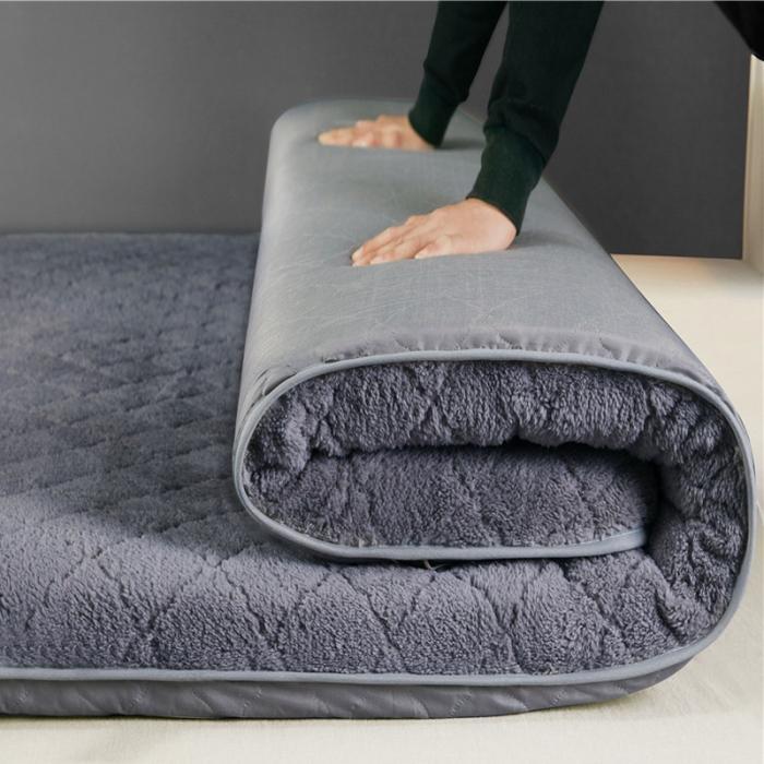 加厚保暖榻榻米垫子铺床褥子垫被垫背学生宿舍床垫0.9m/1.5m/1.8m