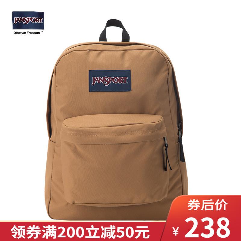 JanSport旗舰店双肩包女背包男学生书包轻便T501 47S