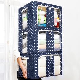 收纳箱布艺衣柜家用折叠衣服整理箱牛津布衣物储物收纳盒神器大号图片