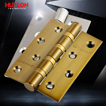 Huilong 4 inch Door hinge 3mm thickness stainless Steel mute bearing hinge 1 pieces htl-02010101