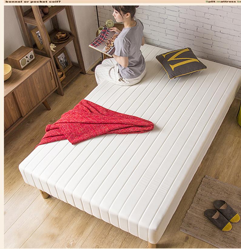 出口 床垫 矮床 榻榻米床 小户型  定制 椰棕床垫 乳胶床一体式床