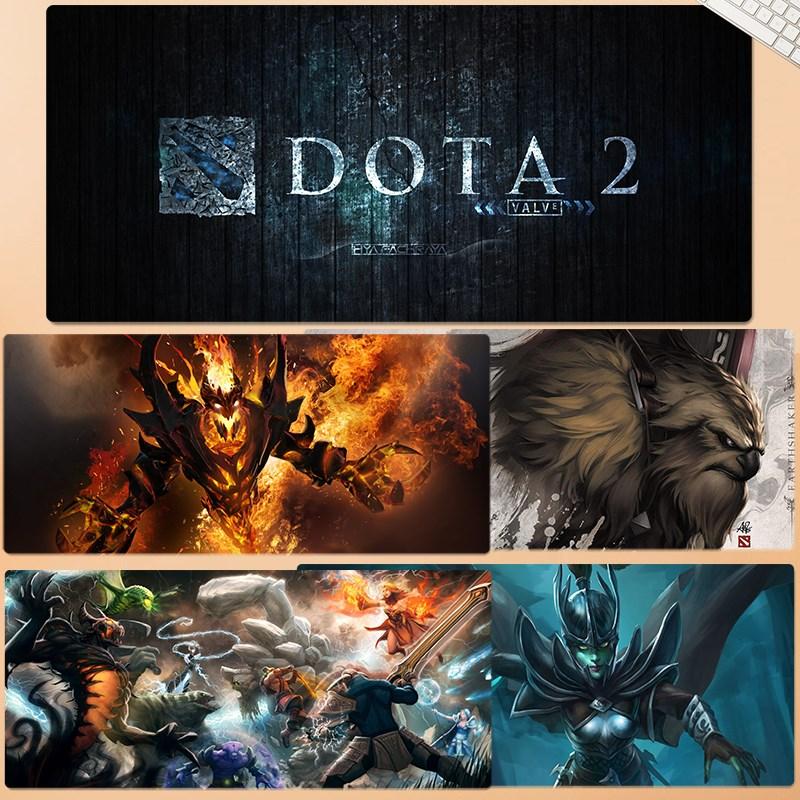 刀塔DOTA 2マウスパッド超大型周辺影カール・セイントゲーム専門電気競合ネットカフェカスタマイズ