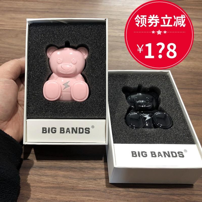 [泰迪熊正版店空气净化,氧吧]big bands闪电熊车载空气净化月销量3件仅售138元