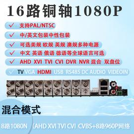 7016-LM-V3主板16路监控AHD五合一TV输出1080N硬盘录像机DVR存储图片