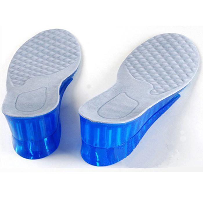包邮 硅胶全掌垫 男士女士通用 弹性内增高垫鞋垫4cm可调 防滑券后14.00元