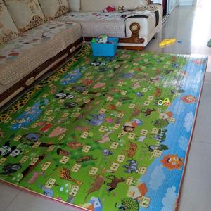 加厚宝宝爬行垫婴儿童爬爬垫小孩子玩耍1.5地毯1.8无毒2米3cm家用