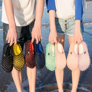 溯溪鞋女户外速干涉水鞋夏季男士透气防滑两栖漂流钓鱼鞋沙滩鞋45