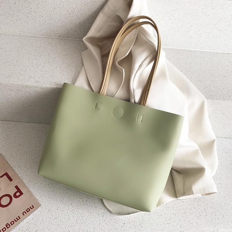 流行托特包包2021新款潮春夏时尚百搭手提包单肩包大包大容量女包