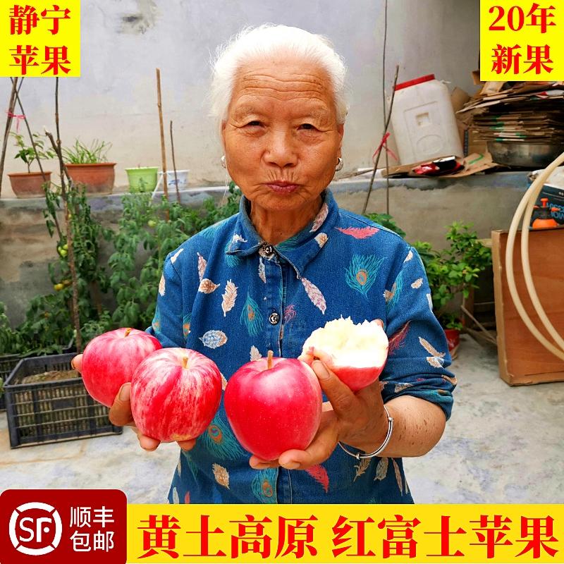 Fresh apple and fruit in Jingning, Gansu Province