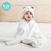 可优比超柔吸水新生宝宝带帽浴巾用后评测