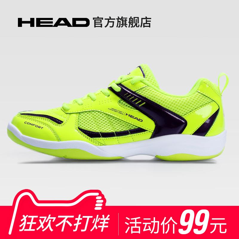 head海德羽毛球鞋子男女款减震透气轻防滑打羽毛球用鞋运动训练鞋