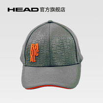 (Head Hyde) Sports cap Hood Mens and womens general net feather ball cap hat New