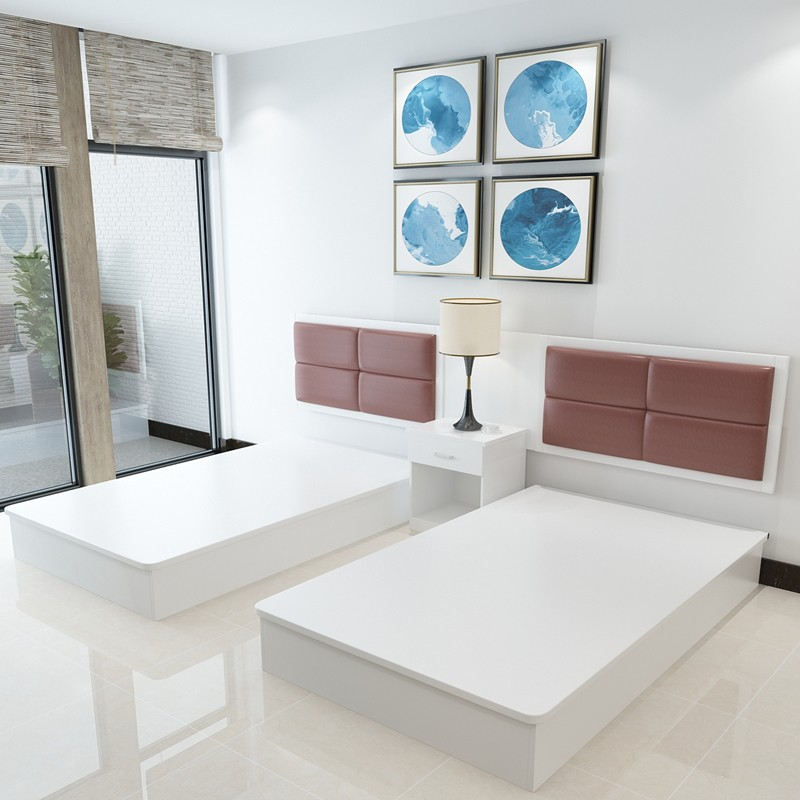 Boutique home stay hotel furniture standard room full set hotel room chain hotel customized Hotel King Room
