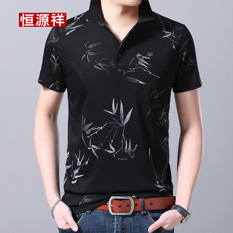 48 years old not wrinkled 50 ice short sleeve shirt male 41 Decor 44 Huan 43 3 / 3 sleeve 45 shirt 46 Tan Yuan Xiang 40
