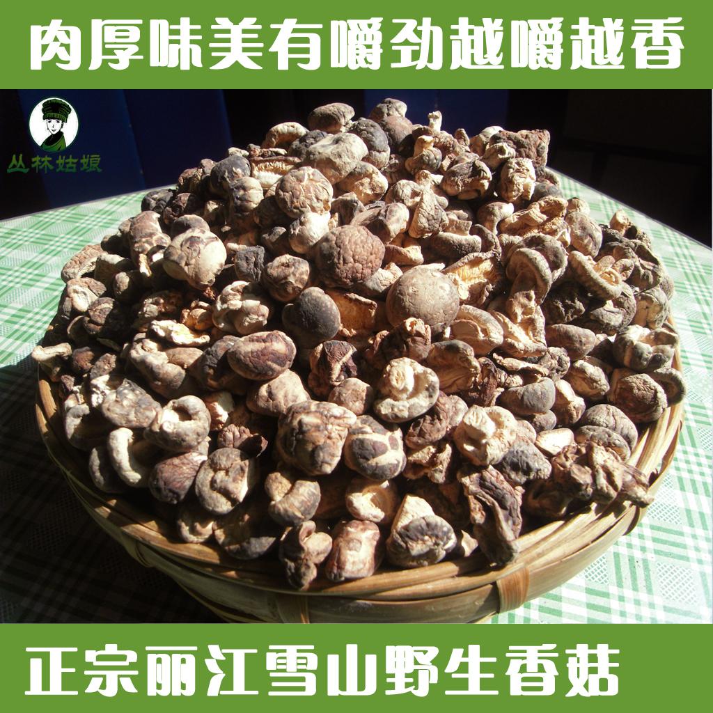 云南特产野生香菇干货高原雪山肉头菇农家土特产小香菇家用250克
