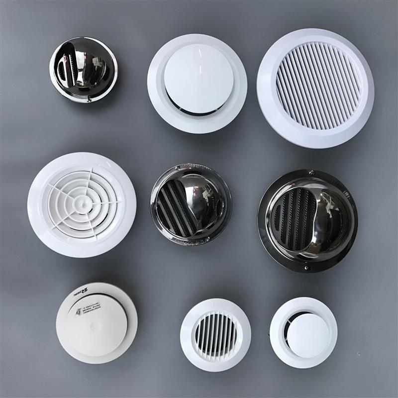 Ventilation fan duct interior decoration ceiling air outlet integrated ceiling exhaust panel exhaust fan cover fan