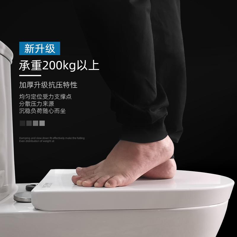 实用马桶盖子母盖大人儿童两用加厚家用通用老式VO型亲子坐便圈厕