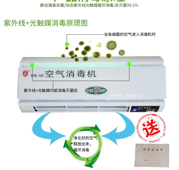 [未来之家环保设备有限公司解毒,活氧机]佳光空气消毒机家用臭氧净化器紫外线空月销量3件仅售920元