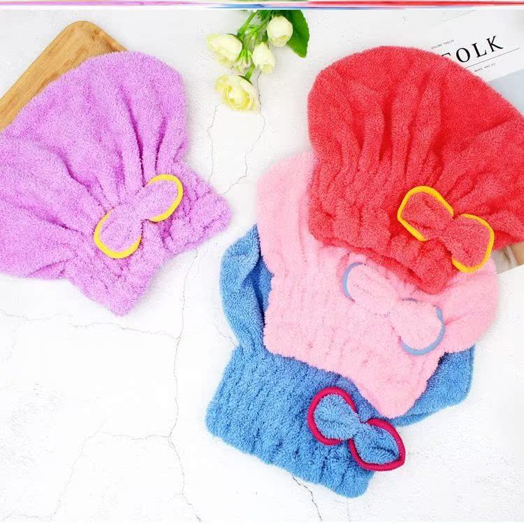 同款网红神器潮柔软创意速干长发擦头发女毛巾浴帽干发巾洗头加厚