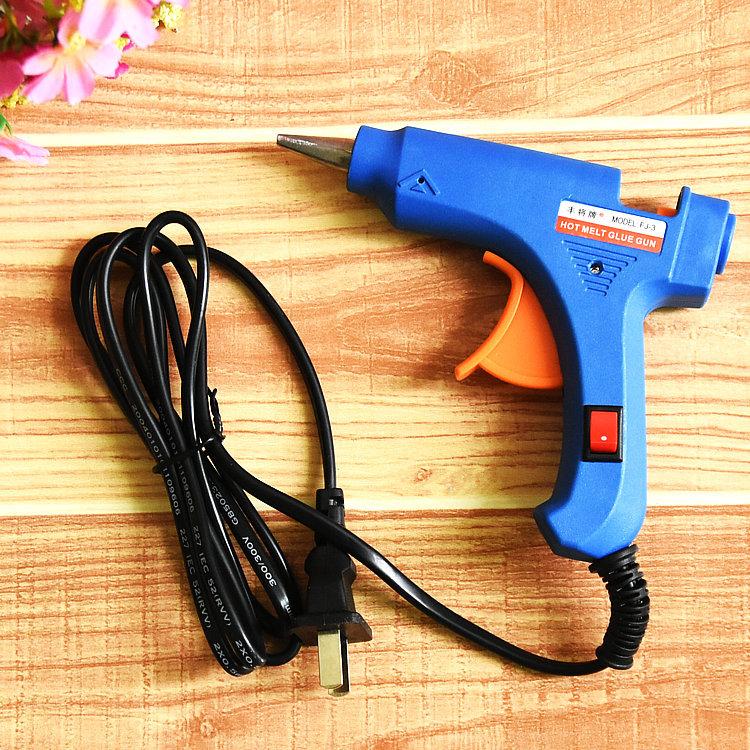 DIY manual sol gun SD / BJD special wig hot melt glue gun without glue leakage 20W