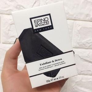 领5元券购买Erno Laszlo奥伦纳素海泥唤肤洁面皂清洁黑皂黑头粉刺100g