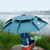Древний гора 2 метр 2.2 m универсальный рыбалка зонт двойной слой дождь винил солнцезащитный крем зонтик вешать рыба зонт сложить рыба зонт