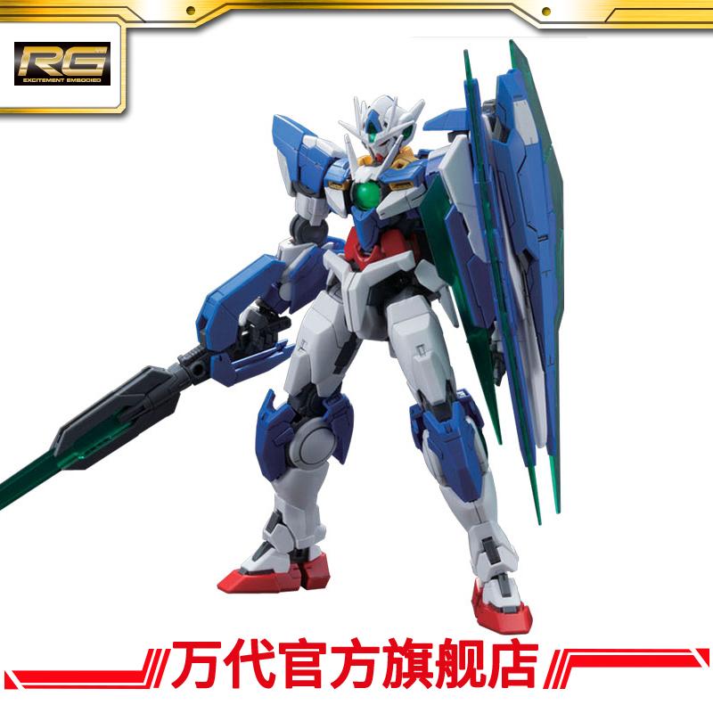 萬代模型 RG 1/144 00 量子 高達/Gundam