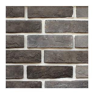小青磚仿古磚 條磚片中式文化磚劈開磚外牆磚背景牆室內復古灰色