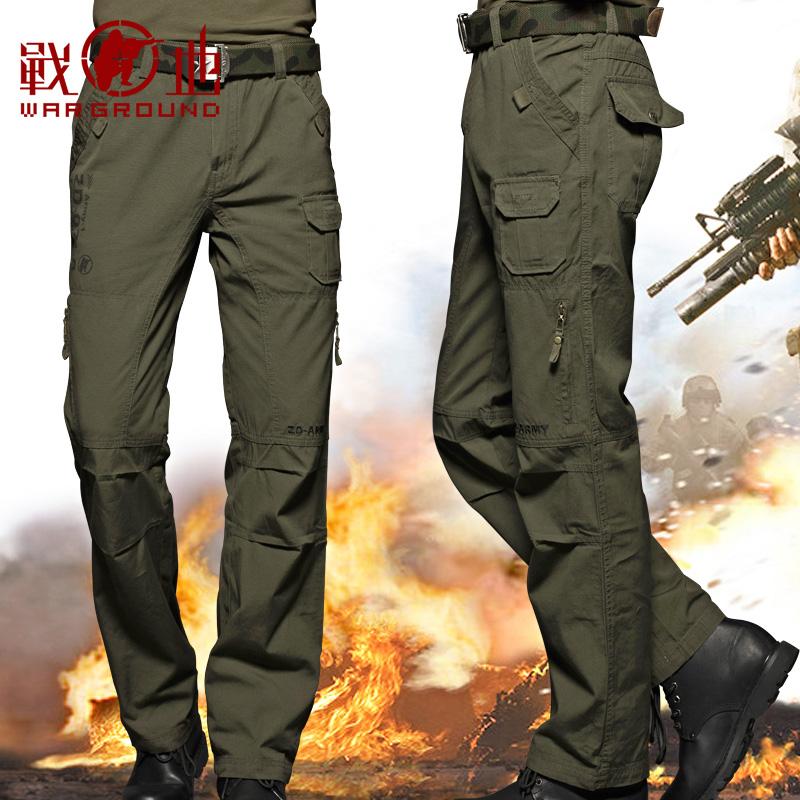 战地户外迷彩男长裤宽松耐磨战术裤多口袋工装裤军迷军裤作战裤子