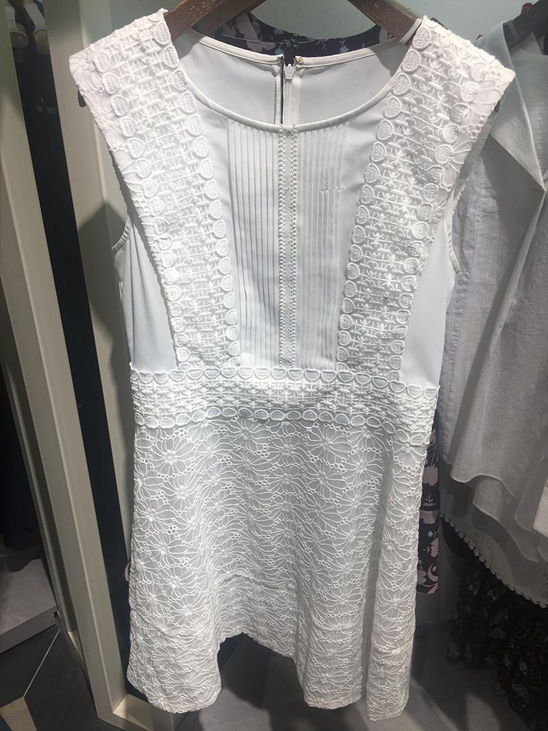 国内代购夏季新款洛妍ROEM无袖显示器淑女仙女连衣裙RCOW72511P