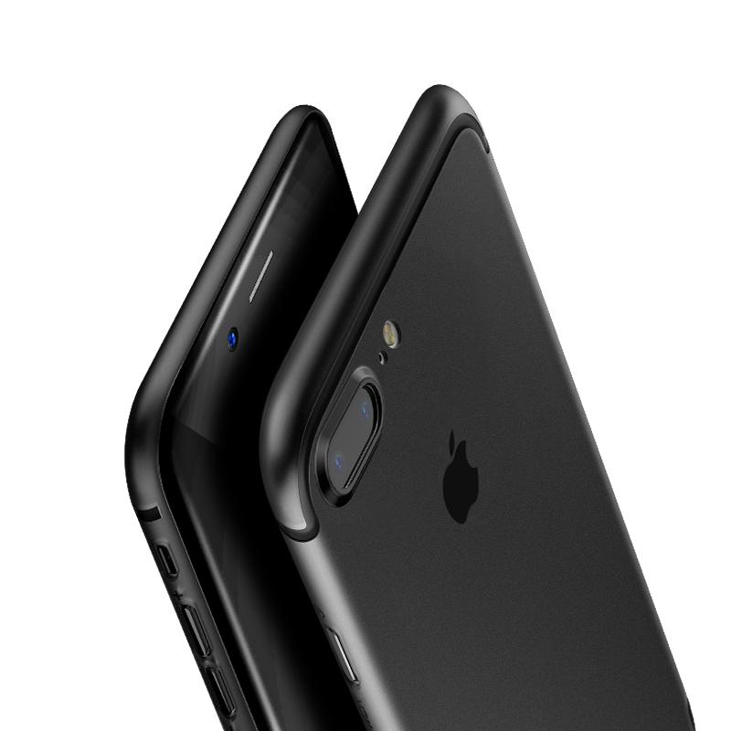 倍思iPhone7手機殼蘋果7plus保護套全包磨砂超薄簡約防摔奢華套硬