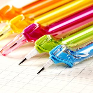 小学生护眼正姿笔防近视笔自动铅笔矫正握姿儿童写字无毒文具亚博登录,亚博在线登录