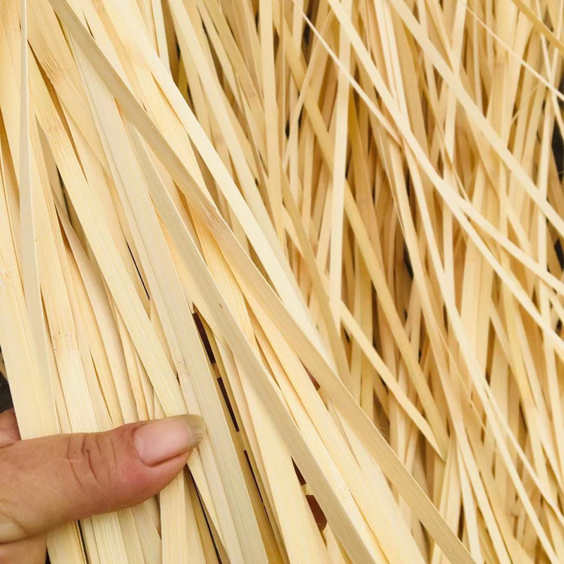 定制竹编竹条竹片编织米筛材料竹丝毛竹婚礼布置专用手工DIY园艺