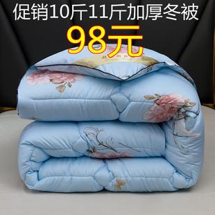 羽丝绒冬被芯单双人被子秋冬 棉被冬被加厚保暖8斤10斤被子冬季
