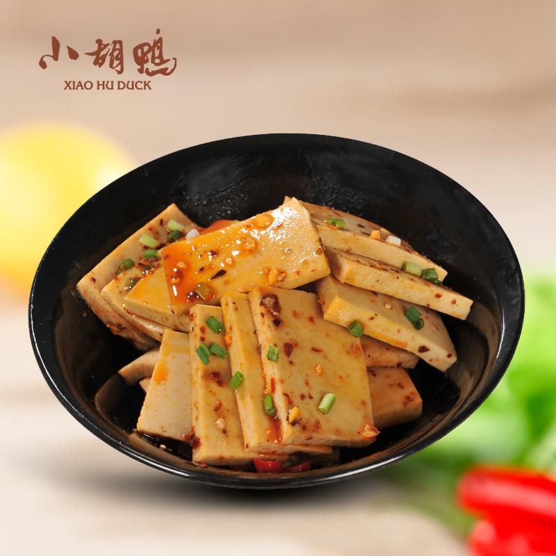小胡鸭香辣味千页豆腐22gx30卤味豆干办公零食独立包装 荆州特产
