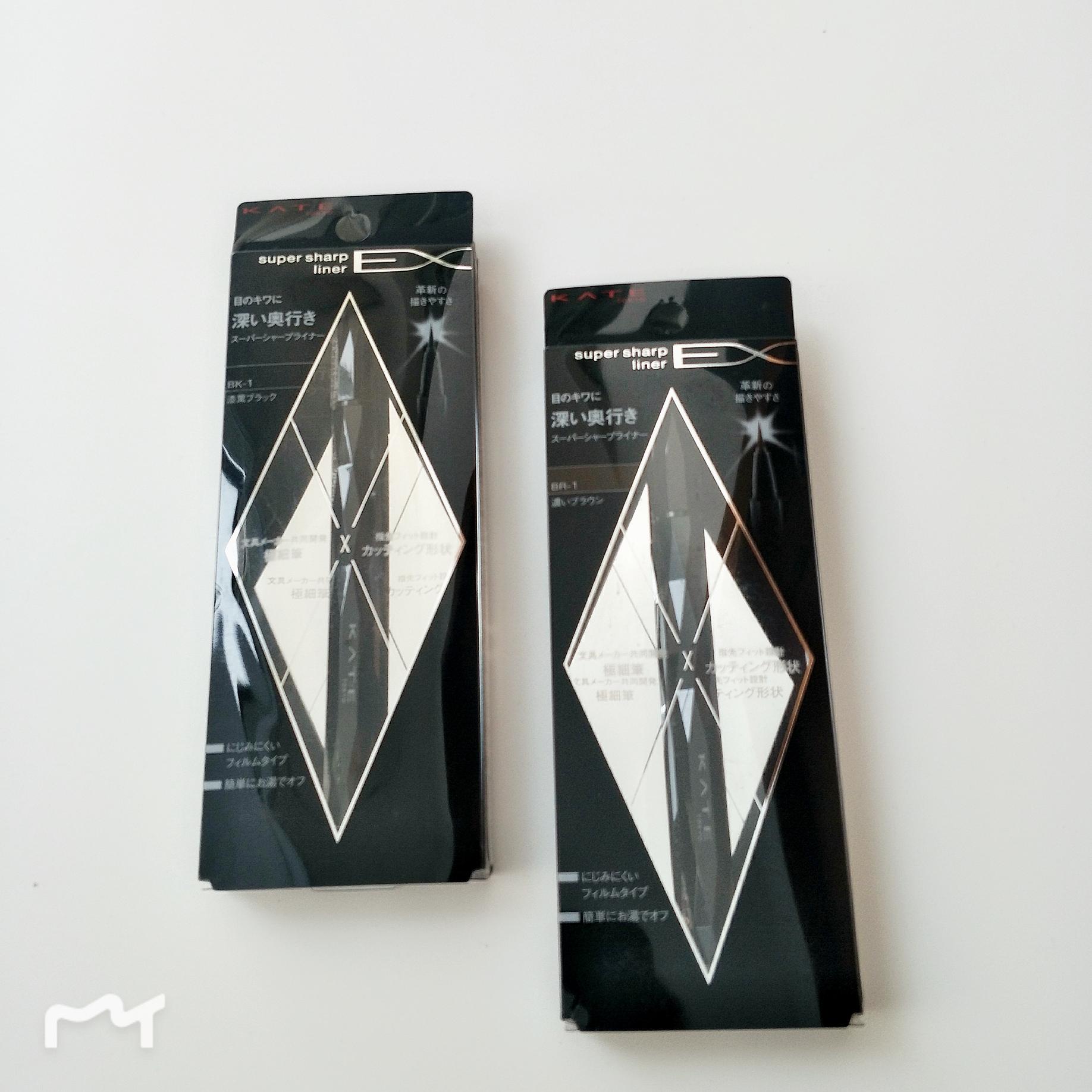 包�] 日本KATE/�P朵新九角型革新�致描�L�O�眼�液�P 黑/棕色