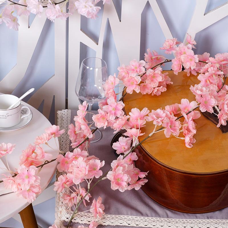 仿真樱花云朵樱花婚庆实景装饰吊顶垂挂装饰百草园
