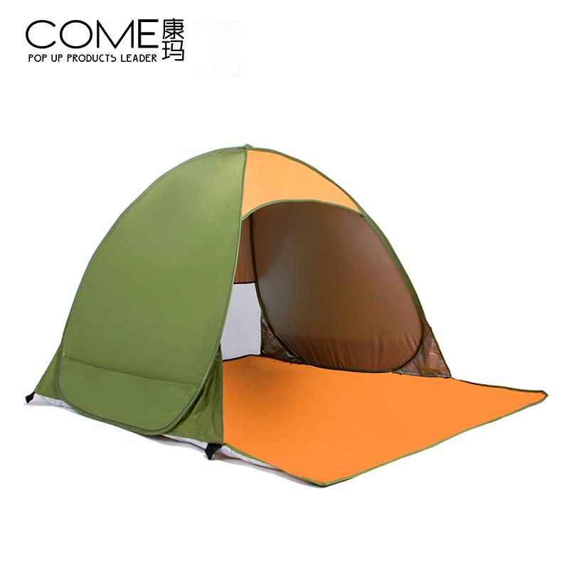 Каждый день специальное предложение палатка на открытом воздухе 2 люди автоматическая ребенок песчаный пляж небольшой палатка скорость открыто затенение солнцезащитный крем рыбалка двойной