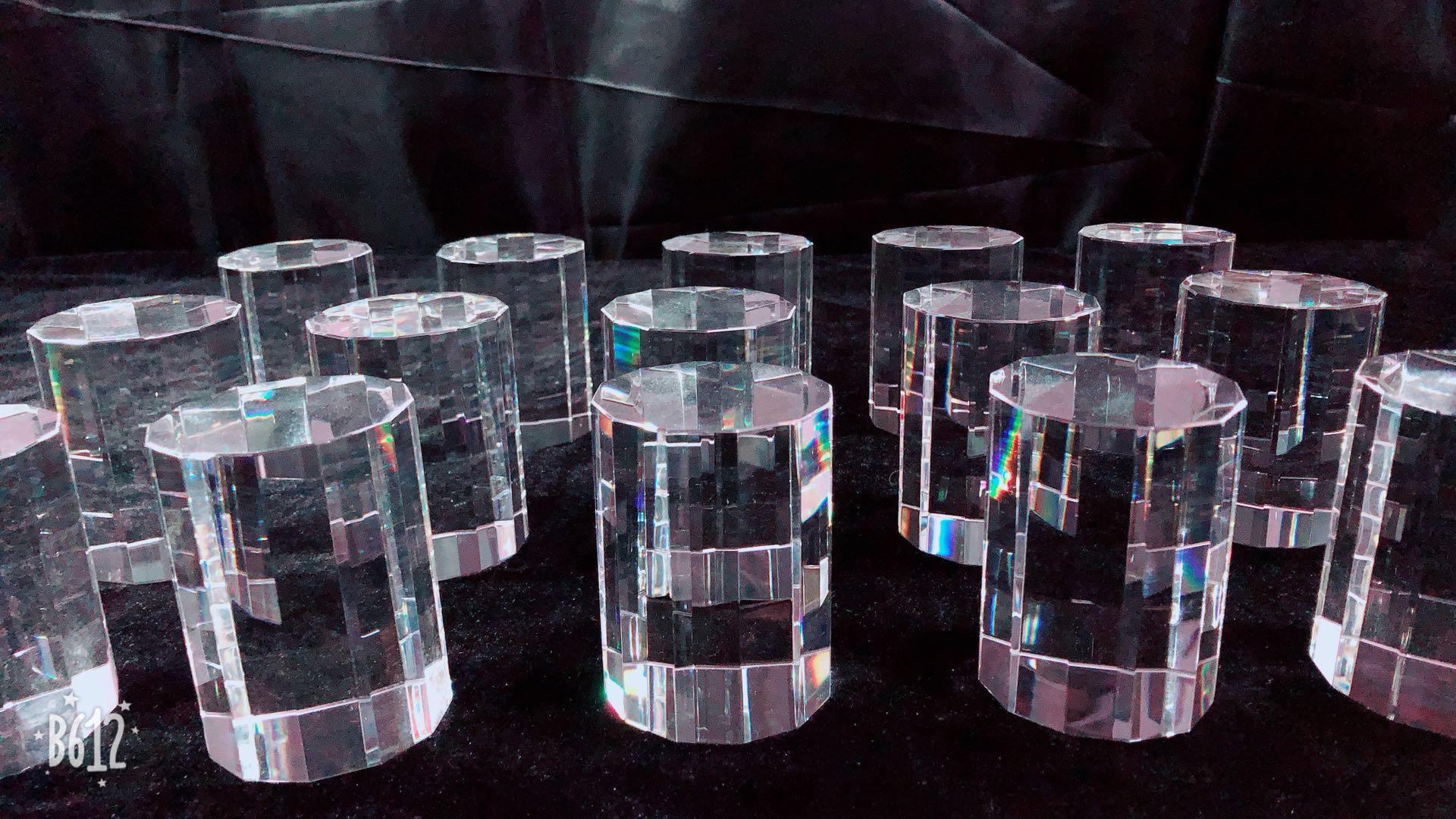 Китайский материал кристалл квадратный корпус резьба фотография фон ювелирные основы кристалл гравировка слово Настройка логотипа