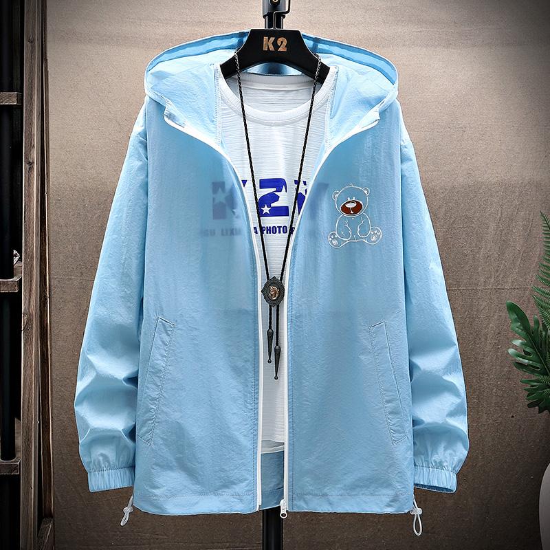 夏季防晒衣外套夹克情侣装皮肤衣超薄户外夏装宽松XZ410-F201-P35