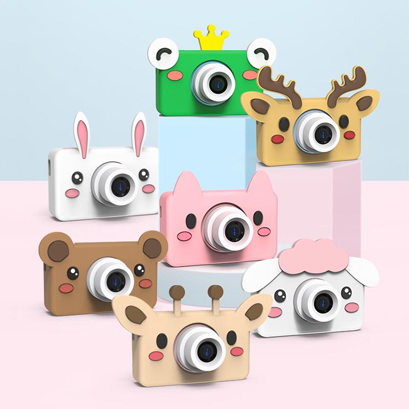 子供の新型の10歳のカメラWIFI伝送の赤ちゃんのミニの一眼レフのおもちゃは写真を撮ることができて誕生日プレゼントします。